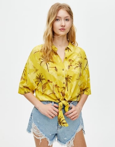 chemise tropical