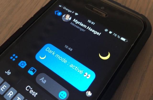 Comment activer le mode nuit de Messenger