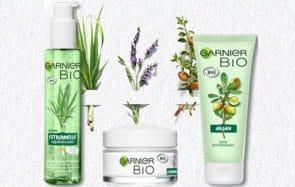 Avec Garnier Bio, les produits de soins bio s'invitent au supermarché