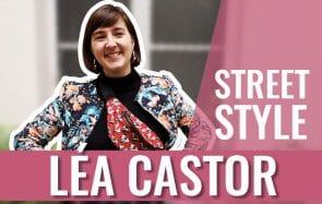 Léa Castor vole sa mère et grâce à ça, elle a un excellent style