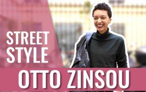 Otto Zinsou, mannequin queer et photographe en Street Style