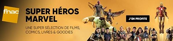 sélection de comics Avengers sur la Fnac