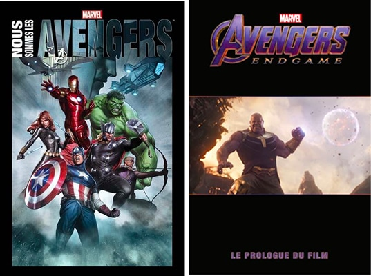 comics marvel avengers