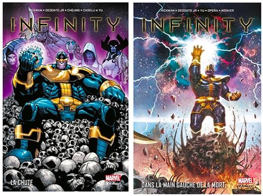 comics marvel gant de l'infini