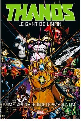 comics marvel thanos gant de l'infini
