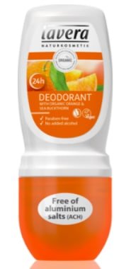 Déodorant roll-on orange Lavera