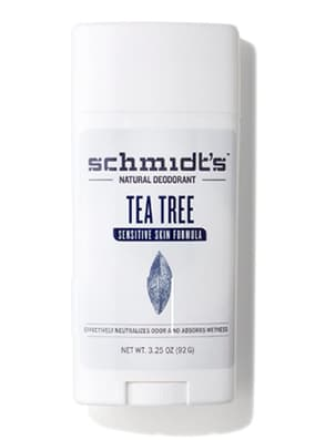 Schmidt's déodorant sensitive tea tree