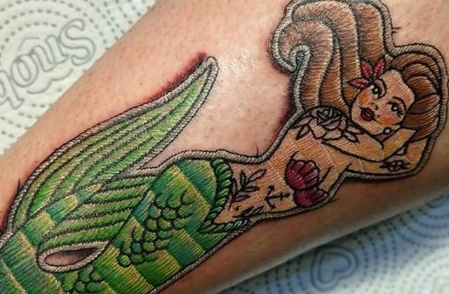 Le tatouage broderie, une tendance superbe