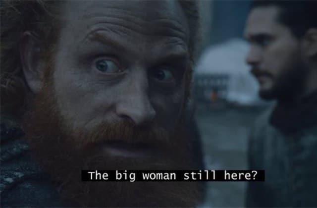 Les meilleures vannes sur Game of Thrones S08E02