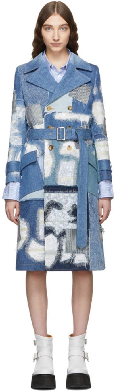 manteau jean