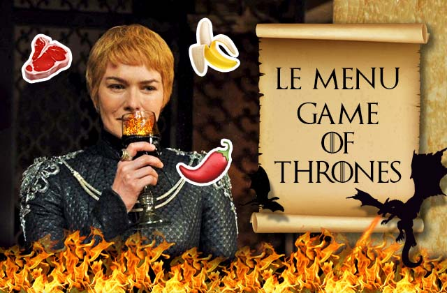 Le menu parfait à déguster devant Game of Thrones S08E01