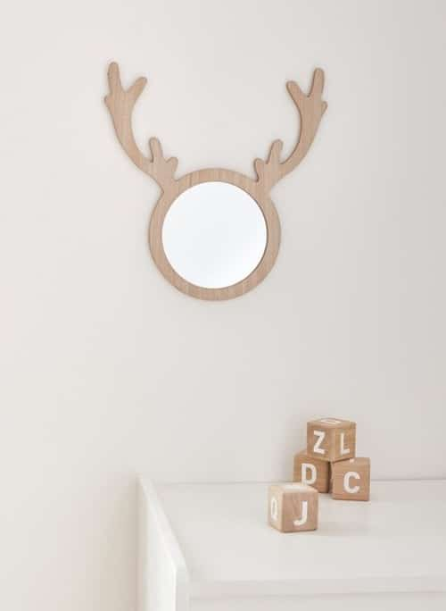 miroir cerf