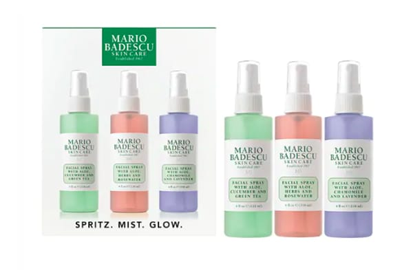 Kit trio sprays visage Mario Badescu