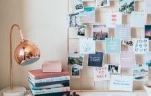 Comment faire un joli vision board et l'intégrer à ta décoration