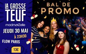 Viens chanter et danser à la Grosse Teuf Bal de promo le 30 mai !