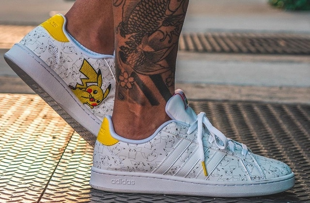 Avec Sneakers Carapuce Collection De X Et Adidas Pikachu PokemonLa tsrxhQCd