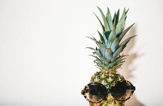 ananas dans les produits de beauté