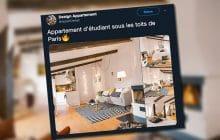 Cet «appartement d'étudiant à Paris» a bien fait rire Internet