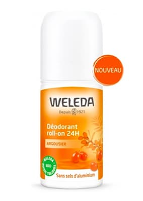 deodorant naturel weleda argousier