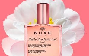 huile prodigieuse florale de Nuxe