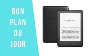 Bon plan du jour : La liseuse Kindle à 54,99€ au lieu de 79,99€ !