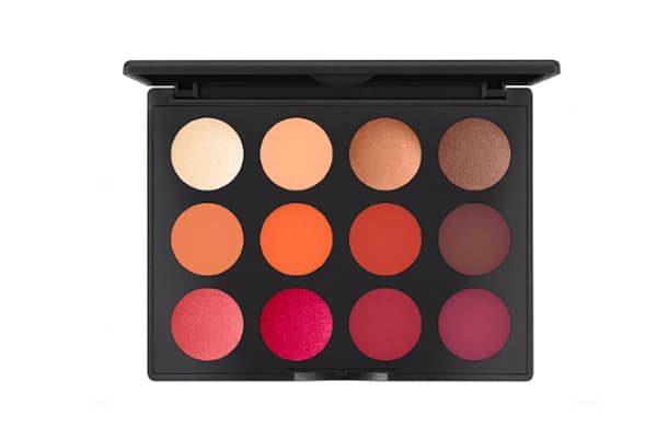 Bon plan Lookfantastic palette Mac Cosmetics Art Library Flame-Boyant
