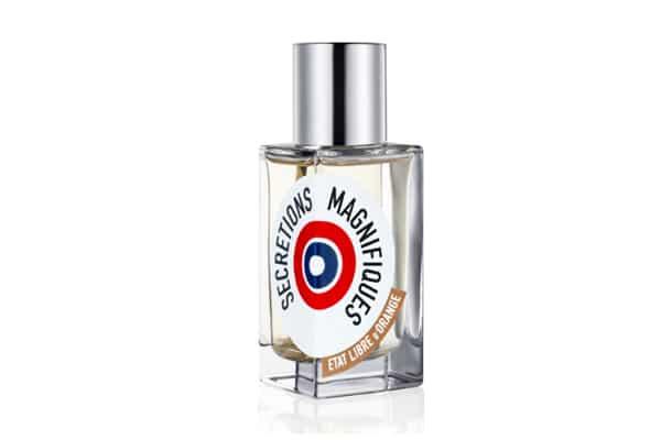 parfum sécrétions magnifiques