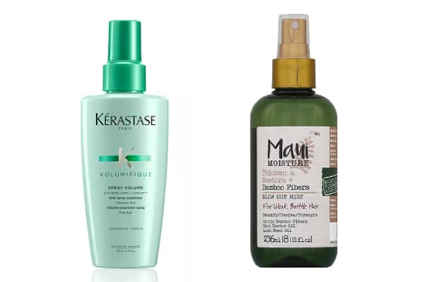 sprays volumisateurs cheveux