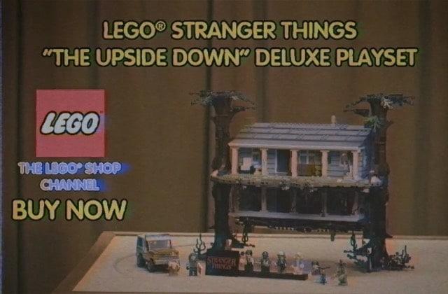 Le crossover LEGO x Stranger Things auquel tu ne t'attendais pas!