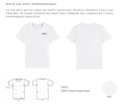 t shirt coton