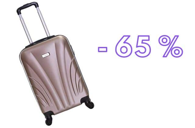 Bon plan du jour : ta valise cabine à 34,99€ au lieu de 99€ !