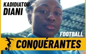 Le foot féminin par Kadidiatou Diani (équipe de France) et des meufs qui en font