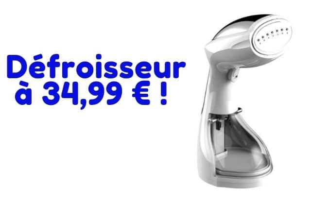 Bon plan du jour:un défroisseur à 34,99€ (-56%)!