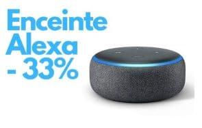 Bon plan:l'enceinte connectée Alexa à 39,99€ au lieu de 59,99€!