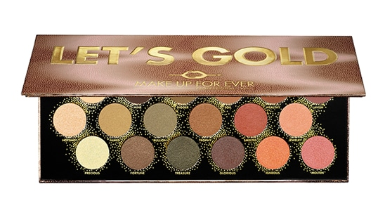palette let's gold make up for ever