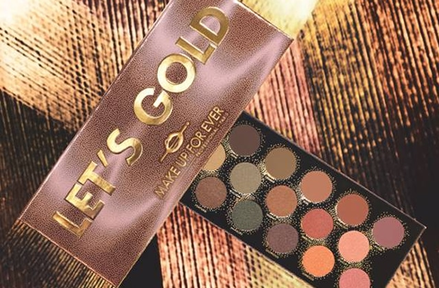 palette gold Make Up For Ever