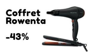 Bon plan du jour : -43% sur un coffret sèche-cheveux + lisseur