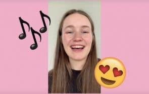 La chanteuse Sigrid te montre comment sauver un plan foireux