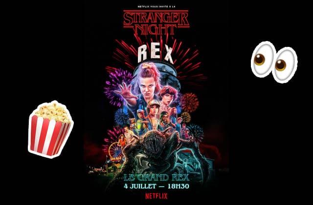 Gagne des places pour l'ÉNORME soirée Stranger Things saison 3 au Grand Rex le 4 juillet !