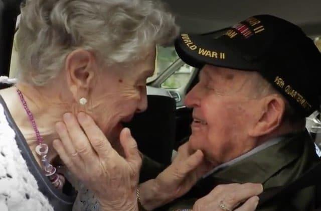 Des amoureux de la 2nde Guerre Mondiale réunis 75 ans plus tard