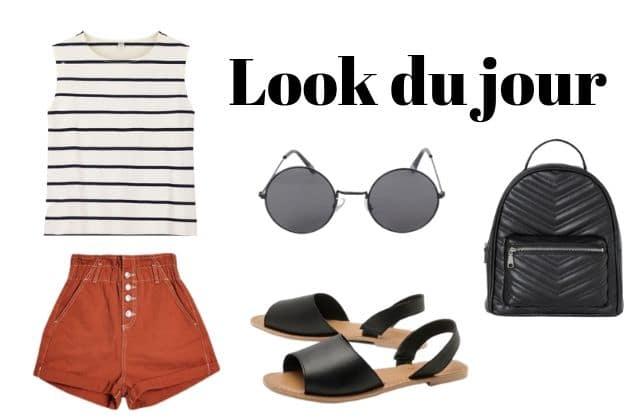 Le look du jour : une tenue pour te balader au bord de la mer !
