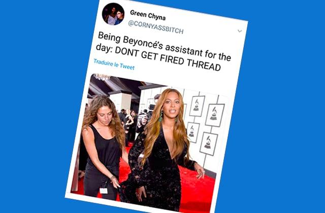 Twitter assitant Beyoncé