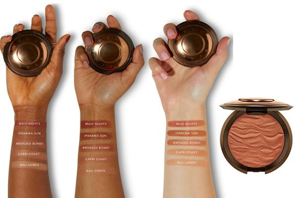 bronzer pour peau noire Becca Sunlit