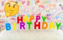 chanson joyeux anniversaire