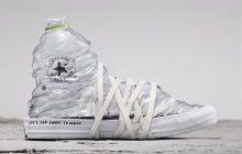 Converse crée des sneakers en plastique et tissus recyclés