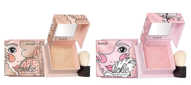 highlighters tickle et cookie benefit