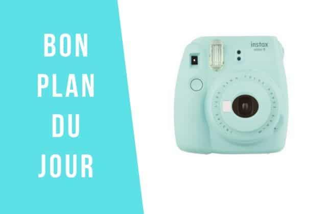 Bon plan du jour : -25% sur l'appareil photo Fujifilm Instax Mini !