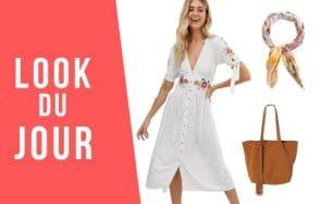 Look du jour : une tenue bohème pour l'été