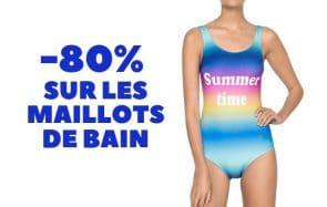 Bon plan du jour : jusqu'à -80% sur des maillots de bain!