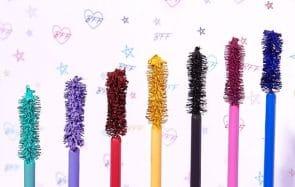 Où trouver les mascaras colorés, la tendance makeup de l'été !
